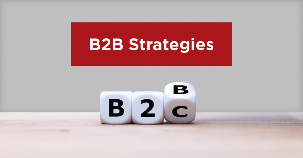 B2B Strategies with dice
