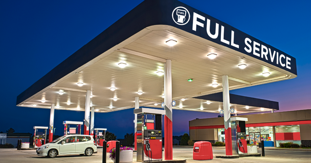 FUEL Marketing full-service gas station